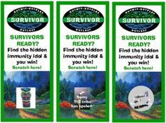 survivor party games