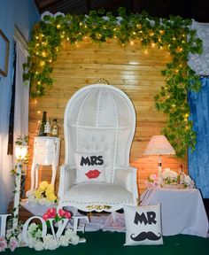 Photo booth decoration Simple & cute by : @de_project90
