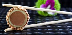 מאגר המתכונים > קינוחים  סושי פנקייקס במילוי שוקולד-קפה אפרת ליבפרוינד