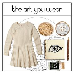 """Art."" by toocutewednesday ❤ liked on Polyvore featuring Hollister Co."