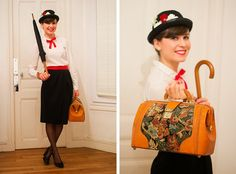 Mode and The City - Blog mode et lifestyle // Halloween 2013 - Mary Poppins costume
