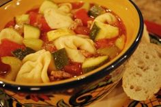 Tortellini Soup - The Cooking Mom
