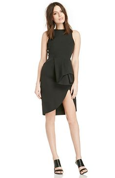 Cameo The Falling Dress in Black S | DAILYLOOK