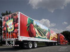 Tuttorosso Tomatoes Semi-Truck Graphics by TKOgraphix by TKO Graphix, Josh Humble on 500px