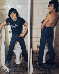 Bon Scott, Angus Young, Heavy Metal Bands, Ac Dc, Nirvana, Crushes, Guns, Music, Rock Bands