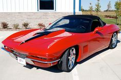 Karl Kustom Corvettes