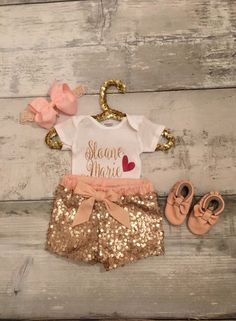 Personalized Name Onesie Coming Home Outfit by SimplyGigiBoutique on Etsy