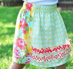 Faith Hope & Love skirt pattern. Three by createhopedesigns