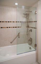 Superbe Tub With Glass Panel | Glass Bathtub Enclosures