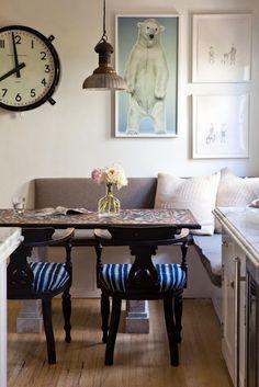 . #BreakFast #Nook #Kitchen #Home ༺༺  ❤ ℭƘ ༻༻