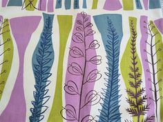 Jane Foster Blog: My favourite Mid Century Modern fabrics in my collection at home - Jane Foster