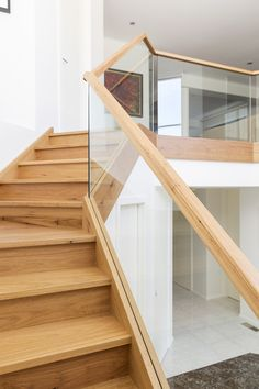 Stairs | Staircase | Modern | Contemporary | Timber | Glass Balustrade | Interior Design