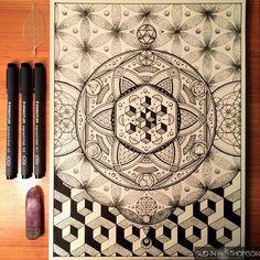 Artwork of Glenn Thomson  gnostic dreamstate