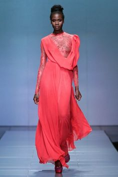 MBFW AFRICA 2013 - M Couture Collection. Credit: SDR Photo Couture Collection, Africa, Dresses With Sleeves, Long Sleeve, Fashion, Moda, Sleeve Dresses, Long Dress Patterns, Fashion Styles