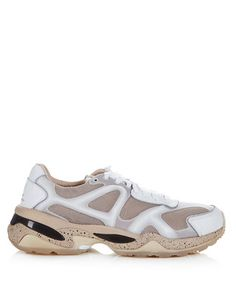 Run white leather running trainers Sale - PUMA by Alexander McQueen Sale