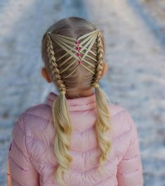 Side Bun with Double Loose Braid - 40 Two French Braid Hairstyles for Your Perfect Looks - The Trending Hairstyle French Braid Hairstyles, Kids Braided Hairstyles, Cool Hairstyles, Latest Haircut For Ladies, Short Hair Styles Easy, Curly Hair Styles, Top Braid, Baby Girl Hairstyles, Teenage Hairstyles