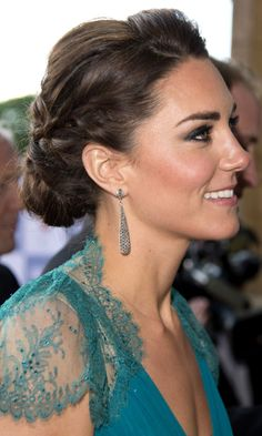 Formal hair :) - Princess Kate always wears it best!