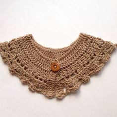 Crochet collar / caplet