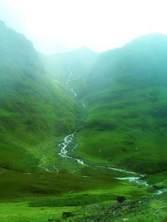 The beautiful Scottish Highlands