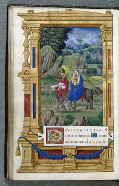 Leaf from Book of Hours | Jean Pichore | France; Tours | 1520 | Walters Art Museum | W.452.79V