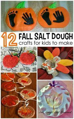 12 for salt dough craft for kids to make