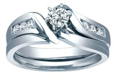 Rogers Jewelry Co. carries the areas best selection of diamond engagement rings and fine jewelry for all occasions. Looking for the perfect gift at the perfect. Bridal Sets, Wedding Sets, Wedding Bands, Jewelry Rings, Fine Jewelry, Love Story Wedding, Diamond Engagement Rings, White Gold, Jewels