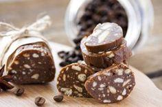 Salame de chocolate para dar mais sabor ao café da tarde!