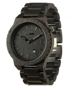 Wooden watch, $140 on Ethical Ocean. For each 1 sold a tree will be planted. #ecofriendly