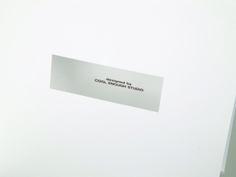 STANDING CARD by cool enough studio.  www.coolenoughstudio.com Branding, Cards Against Humanity, Studio, Design, Brand Management, Studios, Identity Branding