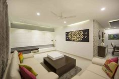 """#ZingySpotlight Today - Abhikalpana Rachna Kendra, is an #architecture and #interior design firm based in Visakhapatnam, #Andhra Pradesh. They designed this #residence apartment interior with the concept of """"Less is more"""" in #Visakhapatnam.  Click on the link below for view more design pictures. http://www.zingyhomes.com/project-detail/abhikalpana-rachna-kendra-_31152/lansum-greens/  Architects, to showcase your own projects on over 200+ social accounts and communities, join…"""
