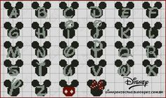 Mickey & Minnie Alphabets