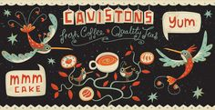Takeaway Coffee Cup Design & Illustration  Steve Simpson