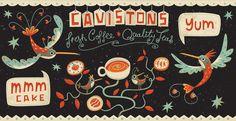 Coffee by Steve Simpson, via Behance