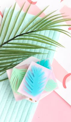 DIY Palm Leaf Soap