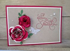 Stampin' Up UK Demonstrator Sarah-Jane Rae Cards and a Cuppa blog: Video Tutorial sharing a Shabby Chic flower using the Stampin' Up! Spiral Flower die.