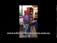 Ken McAlpine Hills Orbit Ironing Board Testimonial - http://www.youtube.com/watch?v=yW-7wg9UEmg