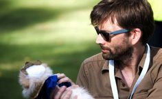 David Tennant was among the celebrity judges taking part in the annual Chiswick House Dog Show in West London earlier today. The communi...