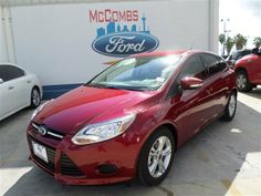 2014 Ford Focus  Ruby Red Tinted Clearcoat For Sale in San Antonio, TX  Vin: 1FADP3K22EL175133 - http://www.autonet.net/cardealers/texas/mccombsfordwest/cars-for-sale/2014-ford-focus-ruby-red-tinted-clearcoat-for-sale-in-san-antonio-tx-vin-1fadp3k22el175133/
