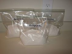 Fake Bisquick:  1 Bag of Flour (5lb. bag)  5 Teaspoons Salt  20 Teaspoons Sugar  2/3 Cup Baking Powder  2 Cups Shortening