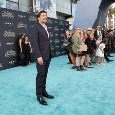 'Javier Bardem stops for a smile on The Pirates of the Caribbean light blue carpet in Los Angeles. This movie premiere was a lot of fun! #ExperientialEvents #EventPlanner #GregLucasDesign #1540Productions Line 8 Photography' by @1540productions. What do you think about this one? @mice.magazine @naceatlanta @rosegold_collective @imjamesmarshall @reinventingevents @arttra_grass_london @ahavaweddings @landerhaven @vestigeeventrentals @tagteamhouston @contemporary_productions…