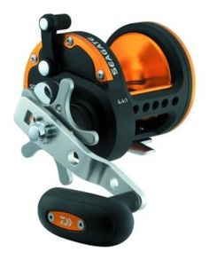 Daiwa SGT50H Seagate Star Drag Saltwater Conventional Reel, Black and Orange Finish | Fishing Online Store