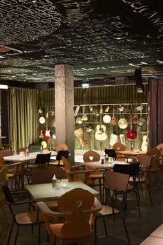 #Hotel #MamaShelter en #Burdeos diseñado por Philippe #Starck