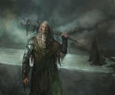 Drowned men are priests of the Drowned God in the Iron Islands.[1] Maester Kirth collected ironborn legends in Songs the Drowned Men Sing.[2]