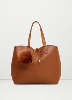 Cosmetic bag shopper bag
