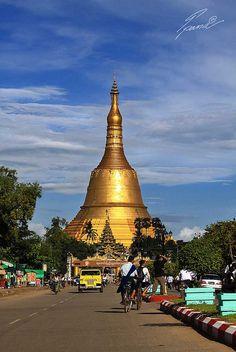 Shwemadaw Pagoda, Myanmar