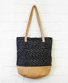 Zana Leather Base Bag - Made in Cape Town