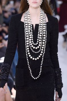 Chanel, Fall 2016 - The Most Incredible Statement Jewelry of Fall 2016 - Photos