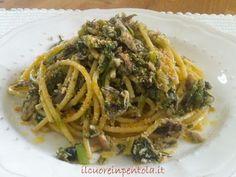 """Non esiste ricetta più siciliana della pasta con le sarde ed il finocchietto selvatico, in dialetto siciliano """"pasta k'i sàiddi"""" che viene preparata per San Giuseppe"""
