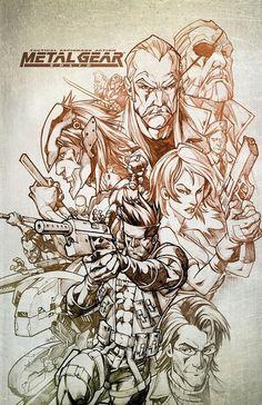 Metal Gear Solid by burninflamezcrew.deviantart.com