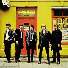 STREET FIGHTING MEN A portrait of the band in 1963 at London's Tin Pan Alley, a popular ha...
